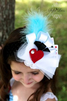 Alice in Wonderland hair piece