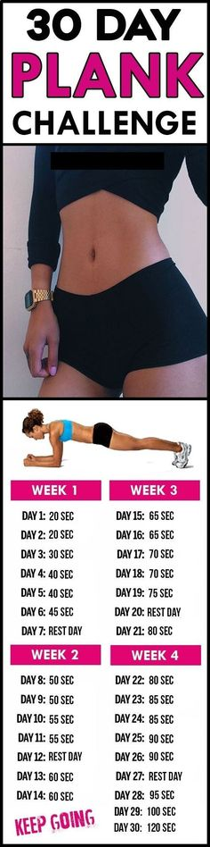 30 day plank challenge   Posted By: NewHowToLoseBellyFat.com