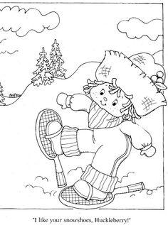 Coloring Book~Strawberry Shortcake's Winter Fun Coloring Book - Bonnie Jones - Álbuns da web do Picasa