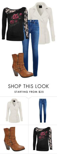 """""""Untitled #115"""" by jasminalexia on Polyvore featuring LE3NO, Paige Denim and Nature Breeze"""