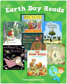 Great Earth Day Reading List over at littleredstreehouse.com