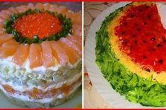 """Salată """"Caesar"""" – cea mai simplă, delicioasă și aromată rețetă! - Bucatarul Watermelon, Food And Drink, Cooking, Cake, Ethnic Recipes, Desserts, Russian Cuisine, Good Food, Salads"""