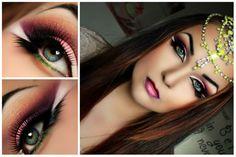 Arabisk sminke https://www.makeupbee.com/look.php?look_id=91997