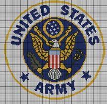 United States Army Logo Crochet Pattern