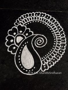 Rangoli Designs Latest, Rangoli Designs Flower, Rangoli Border Designs, Small Rangoli Design, Rangoli Ideas, Rangoli Designs Diwali, Rangoli Designs Images, Kolam Rangoli, Beautiful Rangoli Designs