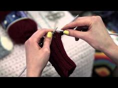 NovitaTube, How to videos (in Finnish), Villasukan kantalapun neulominen #novitaknits #knitting