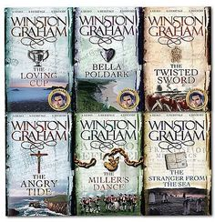 awesome Winston Graham Poldark Series 6 Books Collection Set 7 to 12 Bella Poldark Check more at http://shipperscentral.com/wp/product/winston-graham-poldark-series-6-books-collection-set-7-to-12-bella-poldark/