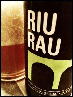 El Alma del Vino.: Cervezas : Cervesa Natural d´Autor Riu Rau / Microserveseria Tyris de Valencia.