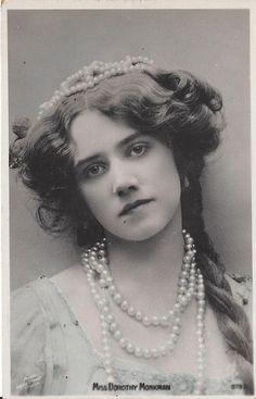edwardianactresses:  Miss Dorothy Monkman