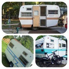 1972 smokey vintage retro camper rv travel trailer | Vintage Camper Brain storm | Rv travel