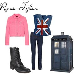 Rose Tyler....just need the thirst & jacket!