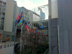 Parlamento Europeo (Bruselas) merece la pena visitarlo si vas con tus hijos.