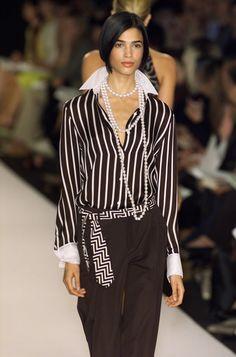 ca0a51f0087ba Ralph Lauren at New York Fashion Week Spring 2001