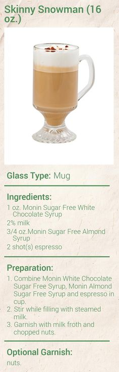 Create this delicious Cinnamon Dolce Latte in minutes using Monin Gourmet Syrup. Add a splash of Monin to coffee, cocktails, teas, lemonades and more. White Chocolate Syrup, Sugar Free White Chocolate, Hot Chocolate, Coffee Drink Recipes, Coffee Drinks, Coffee Mugs With Logo, Coffee Shop, Coffee Art, Cappuccino Recipe
