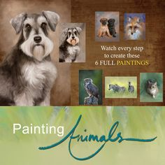 A recent ad for my Corel Painter 12 tutorial series: Painting Animals Disc Set.  www.HeatherThePainter.com    Learn to paint digitally with Corel Painter Master, and Corel Training Partner Heather Michelle!
