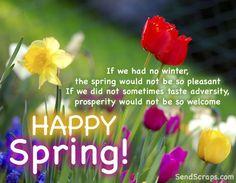 ❀ Happy Spring Facebook Cover ❀