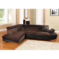 Beverly Fine Furniture Xena Sectional | AllModern