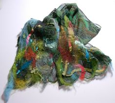 Felt-Tipped Scarf by scarfitup, via Flickr