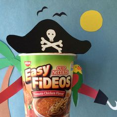 Who be ready for some sc-arrr-umptious Cup Noodles Easy Fideos? #TalkLikeAPirateDay