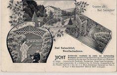 Das Bad war einmal international. Karte in holländischer Sprache