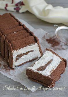 video ricetta torta gelato pavesini e nutella ricetta dolce facile veloce goloso estivo