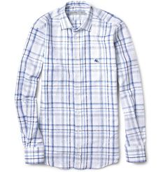 Absolutely love this! Slimfit cotton-jacquard shirt. By Etro via Mr Porter.