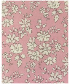 Liberty print Capel R tana lawn from the Liberty Art Fabrics collection.     This one colour floral was first printed on Tana in 1978. Capel has been on Classic Tana since 1993.