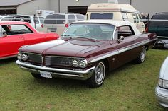 1962 Pontiac Parisienne convertible