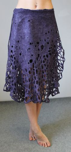 Felted skirt by doseth on Etsy, €119.00