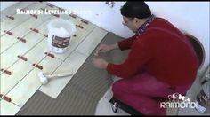 Ferramenta inovadora de Assentar Cerâmica:  O sistema Raimondi permite um perfeito nivelamento e espaçamento das peças de cerâmica. O assentamento e feito normalmente com argamassa colante. O piso bem nivelado tem um acabamento superior.