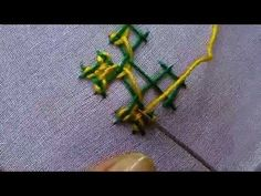 Kutch work or Kachchi Embroidery Tutorial PART-2 - YouTube