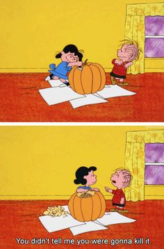 "From ""It's the Great Pumpkin, Charlie Brown"""