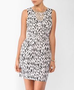 Abstract Pleated Dress | FOREVER21 - Super Sweet!