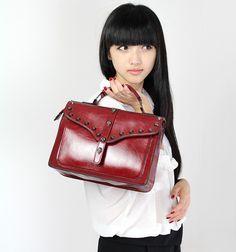 Ladies' Messenger Bags European British Retro Style Leather Cambridge Satchels for Women - US$48.99 - amandabagsshop.com