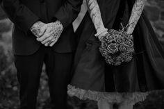 Fotos de casamentos de tatuados - Weddings tattooed (32)