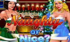 Yılbaşı gecesi yaklaşırken Yılbaşı temalı slot oyunları oynayalım! Naughty or Nice, RTG firmasından gelen 5 çarklı ve 50 ödeme çizgili video slot oyunudur. Oyunda progresif jackpot sistemi bulunduğu için kazanç elde etmeniz daha da kolay oluyor. Oyundaki semboller, geyik, ökseotu demeti, hediye paketi, Noel Baba ve Noel Babanın karısı resimlerinden oluşuyor. Herkese Mutlu Yıllar!