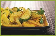 Sautéed Squash - from the recipes of Genella deGrey