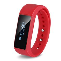 LQM I5 Plus Smart Bracelet Bluetooth 4.0 Touch Screen Fitness Tracker Health Sport Wristband Sleep Monitor TPU Material (Red) * You can find out more details at the link of the image. (This is an affiliate link and I receive a commission for the sales)