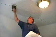 In this how-to video, This Old House general contractor Tom Silva saves a cracked plaster ceiling