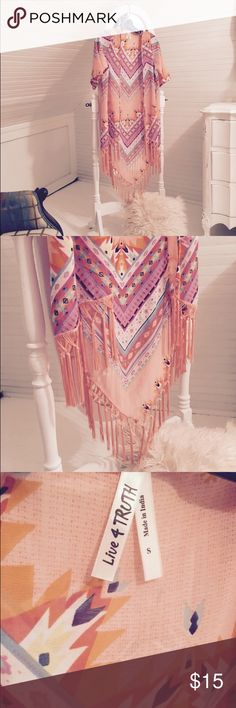 LIVE 4 TRUTH KIMONO Great condition maybe wore three times Tops