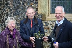 Miss Edith Cavell Rose planted at Edith Cavell's grave in Norwich - Latest news | Cavell Nurses' Trust