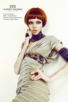 Ethnic collection by Aleksey Rouman 2013 spring/summer