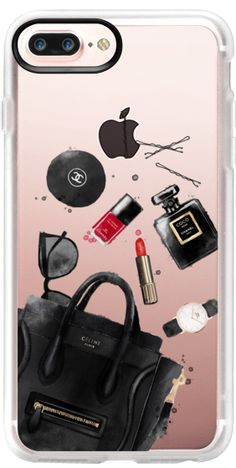 Casetify iPhone 7 Plus Case and iPhone 7 Cases. Other Girls iPhone Covers - In My Bag by Maja Tomljanovic