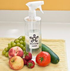 Homemade Fruit and Vegetable Cleaning Spray