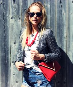 Sequins Are A Girls Best Friend - Even in the Spring!!