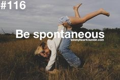Be spontaneous. Don't be spontaneous. Being spontaneous and impulsive is the worst decision I have ever made. Relationship Bucket List, Perfect Relationship, Relationship Goals, Relationships, Perfect Marriage, Life Goals, Perfect Boyfriend, Future Boyfriend, All You Need Is Love