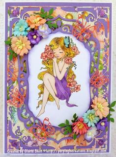 Purpleglo Creations: Encouragement Card Using Ching-Chou Kuik Spring Dreaming Digi. http://purpleglocreations.blogspot.com/2015/03/encouragement-card-using-ching-chou.html
