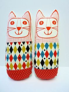 Jane Foster....made of vintage Eames cloth. Cool cat.