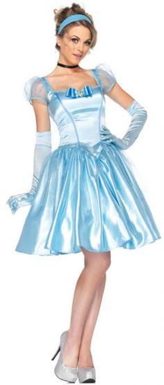 Women's Classic Cinderella Costume - Adult Costumes