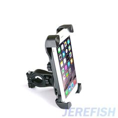 JEREFISH Bicycle Accessories Handlebar Clip Mount Bracket Bike Mobile Phone Holder Stand for iPhone 6s plus Samsung Bike Holder